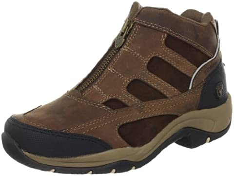 Ariat Women's Terrain Zip H2O Hiking Boot, Distressed Brown,8.5 B US