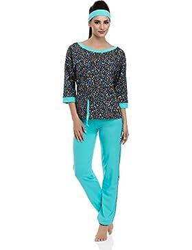 Merry Style Damen Schlafanzug Olivia