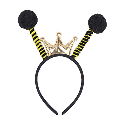 chmuck Biene Haarreif Insekt Haarreif Accessoire für Karneval Fasching Halloween Party Kostüm Verkleidung ()