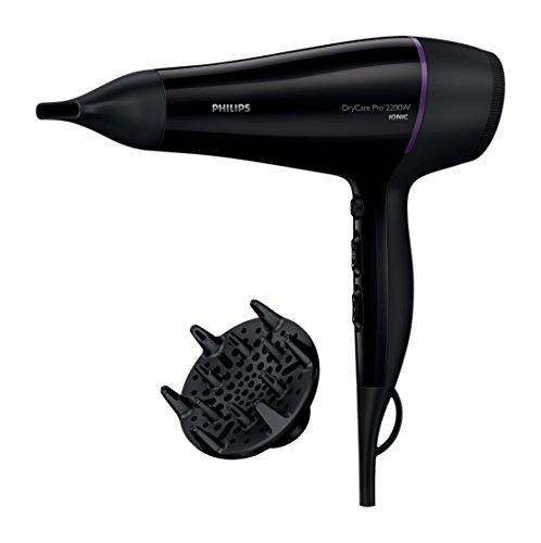 Philips BHD176/10 Sèche Cheveux DryCare Pro - Moteur AC 2200 W - Diffuseur de volume