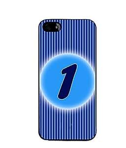 Fuson 2D Printed Numerology Designer back case cover for Apple iPhone 4S - D4218