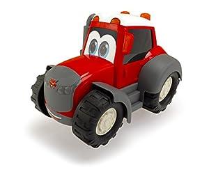 "Dickie Toys 203814009 ""Happy - Massey Ferguson - Tractor de Juguete"