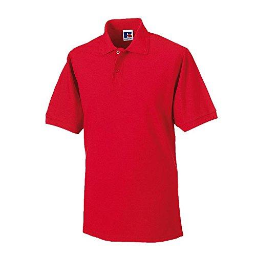 Russell - Robustes Pique-Poloshirt - bis 6XL / Bright Red, XXL XXL,Bright Red