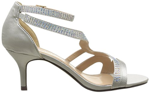 Initiale Somers, Sandales femme Argent