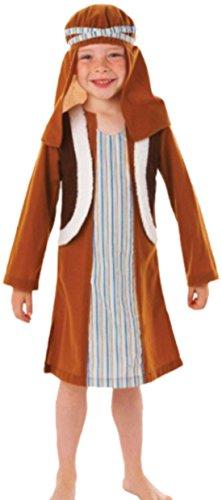 Zauberclown - Jungen Schäfer Christmas Story Weihnachtskostüm, 122, (Familie Toy Story Kostüme)