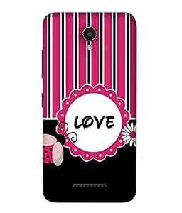 FUSON Designer Back Case Cover for Lenovo Vibe B (From Love To White Haired Confidante Has Been)