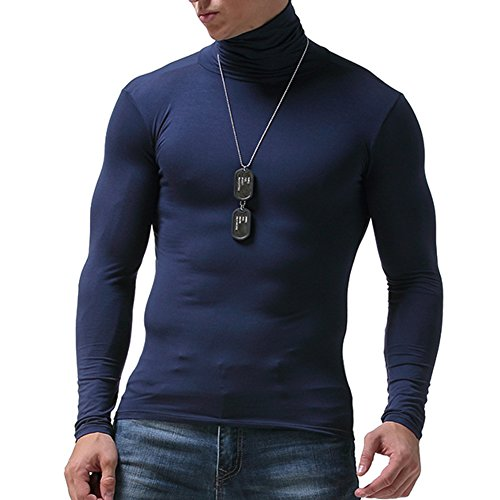 para Hombre Camiseta t/érmica VENI MASEE Manga Larga