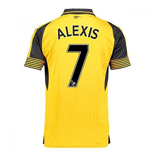 c05683d301c 2016-17 Arsenal Away Football Soccer T-Shirt (Alexis Sanchez 7)