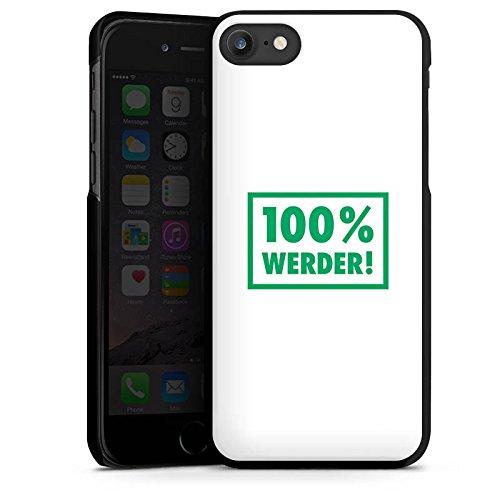 Apple iPhone X Silikon Hülle Case Schutzhülle SV Werder Bremen Fanartikel Bundesliga Hard Case schwarz
