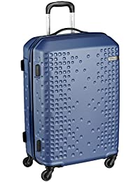 American Tourister Cruze Spinner Polyester 55 cms Blue Hardsided Suitcase (AN6 (0) 01 001)