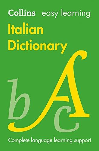Easy Learning Italian Dictionary (Collins Easy Learning Italian)