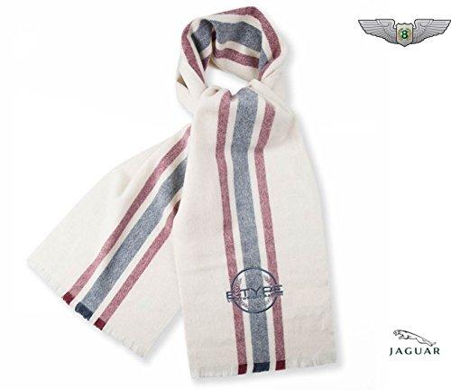 jaguar-merchandise-new-genuine-heritage-e-type-scarf-cream-50jdsf699gya