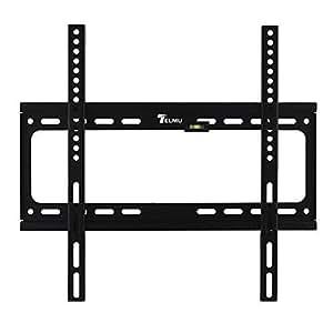 """Telmu TVM002 Supporto da Parete per TV , adatto a LCD, LED, Schermo Piatto da 26"""" a 55""""; Max VESA 400mm*400mm. Peso massimo di carico fino a 50KG."""