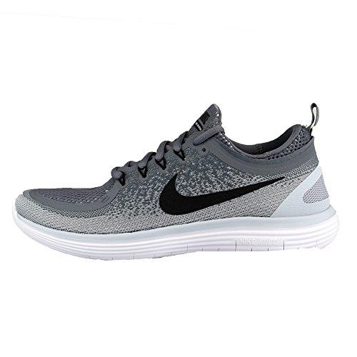 Nike Free Rn Distance 2, Scarpe da Corsa Uomo Grigio (Cool Grey/Black/Wolf Grey/Stealth/White)