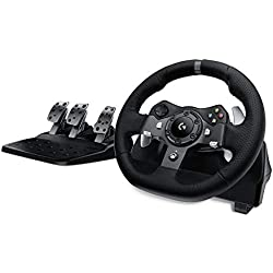 Logitech G920 Driving Force Racing Wheel & Pedals (Xbox One & PC) UK