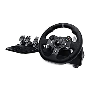 Logitech G920 Driving Force Racing Wheel and Pedals (Xbox One and PC) UK-Plug (B013Y78YY4)   Amazon Products