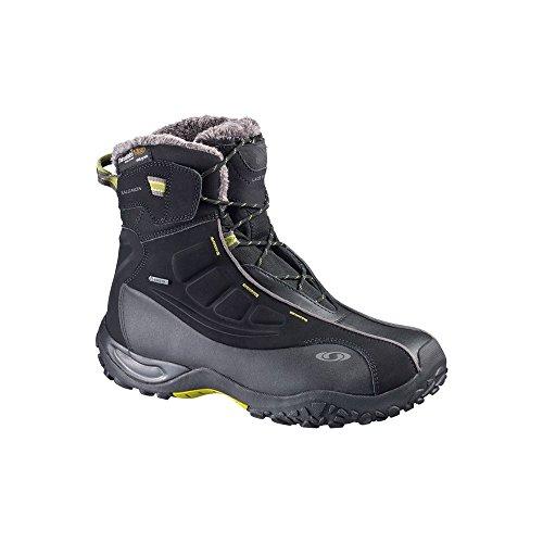 Salomon L36674600, Chaussures de Randonnée Homme Noir