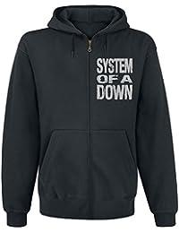 System Of A Down Scribble Frame Sweat à capuche zippé noir