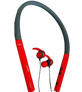 JYARA Newest Bluetooth Neckband Earphone with feature of Super Bass   Extra Bass   Sound Clarity   Noise Cancellation   Voice Clarity   Sweat Proof   Premium Look  Professional Bluetooth 4.1 Wireless Stereo Sport Headphones Headset Compatible with your Micromax Bolt A51