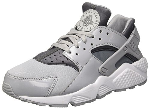 Nike Damen Air Huarache Run Gymnastikschuhe, Grau (Wolf Grey/Cool Grey/Black), 40 EU