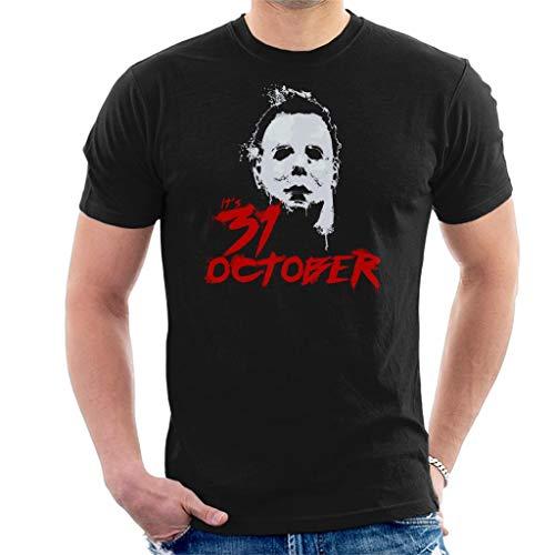 Halloween Michael Myers Its 31st October Men's T-Shirt (Halloween-city Myers Michael)