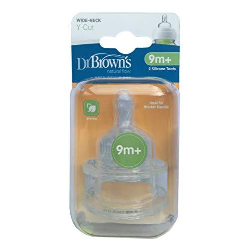 DR BROWNS Optionen Y Cut Teats Twin Pack, 1er Pack (1 x 18 g) -