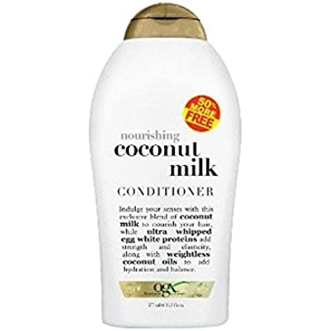 Organix leche de coco Acondicionador 575ml Bono Nutritivo