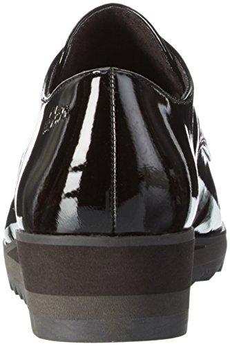 s.Oliver 24603, Mocassins Femme Noir (Black Patent 018)