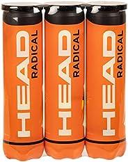 HEAD radikala tennisbollar, trippelpaket (12 bollar)