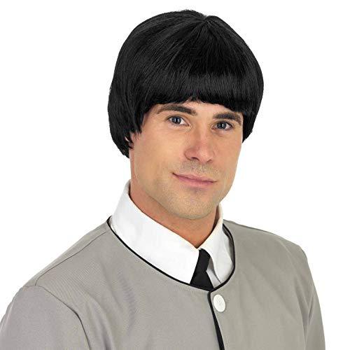 tume Kostüm, 60s Mersey Beat Wig, Einheitsgröße ()