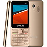 G'Five Z18 Gold, 2.4 Inch, Dual SIM Mobile Phone With Camera, 1200mAh Battery, Wireless FM, Vibration And 1 Year Warranty