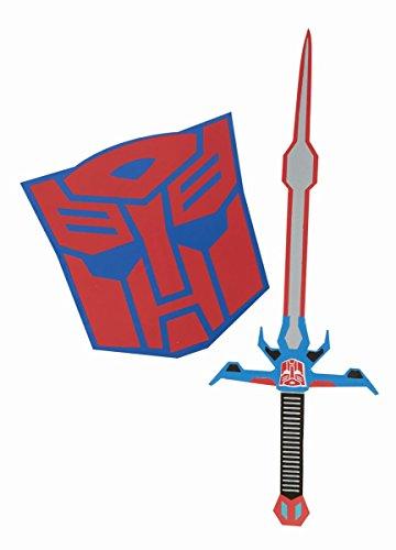 Kostüme Prime Optimus Transformer (Transformers Optimus Prime Schwert und Schild Karneval)