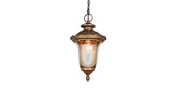 Lampadario Allaperto : Bingj lampadari in vetro impermeabile di lusso allaperto bronzo