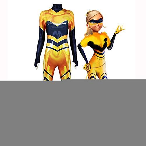 Cosplay Kleidung Queen Bee Anime Kostüm Super Hero Kostüme Lycra Weihnachten Halloween Cosplay Kleidung Für Erwachsene/Kind-Abnutzung Women-S