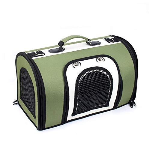 2-ton-tasche (Kylinwwc Haustier-Ausflug-Tasche stilvolle 2 Ton Gesteppte weiche mit Seiten versehene Hund und Katze Haustier-Tragebeutel-Handtasche (Farbe : A, größe : S))