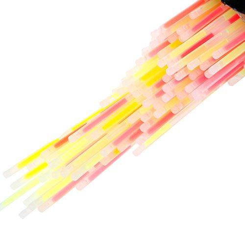 Senoow Multi Color Fluoreszenzlicht Glow Sticks Armbänder Neonhalsketten Rally Raves