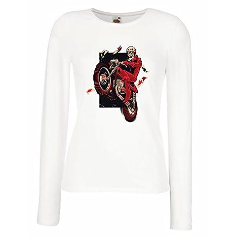 Manches longues Femme T-shirt Motocycliste - Vêtements de moto, vêtements