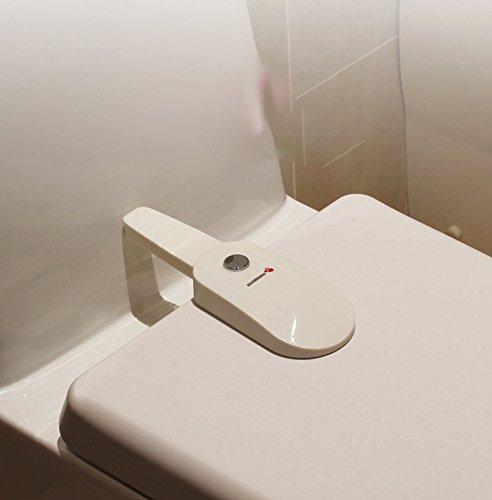 Inovey Bl-979 Badezimmer-Wc-Verschluss Baby Sicherheit Sicherheit Säuglings Schrankschloss Schrankschlösser & Riemen Wc Kindersicherung Schutz