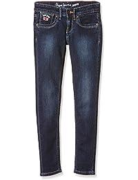 Pepe Jeans Pau, Jeans Para Niños, Azul (Denim P46), 14 años