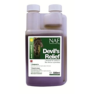 NAF - Devils Relief Horse Joint Supplement x 500 Ml NAF – Devils Relief Horse Joint Supplement x 500 Ml 41LrUOWPVsL