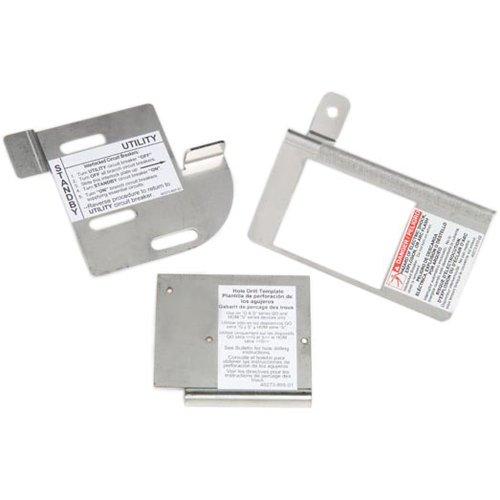 Platz D von Schneider Electric homcgk2C Homeline Cover Generator und qom2Frame Größe Main vorzubeugen Interlock Kit