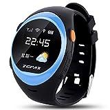 Lemumu S888 Senioren Studenten Kinder Telefon Uhren GPS-Positionierung Smart Uhren fallen Alarm Sie aufrufen können, können Sie im Mittleren SIM-Karte, schwarzer Stecker