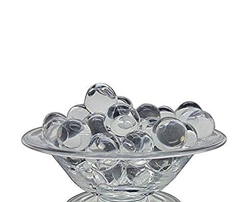 Gel Perles d'eau Aqua Cristal Perle pour vase Plante de remplissage pour mariage Maison Décoration de cuisine–5000PC à la décoration de