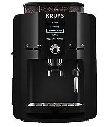 Krups EA 8250 Kaffee-Vollautomat Piano (1.8 l, 15 bar, 1450 Watt, Dampfdüse) schwarz