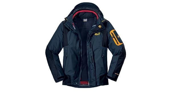 cheapest offer discounts best value JACK WOLFSKIN Men's 14th Peak Jacket, Navy, M: Amazon.co.uk ...