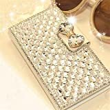#6: Alcoa Prime Luxury Bling Bowknot Crystal Diamond Wallet Flip Case Cover For iPhone 6/ 6s