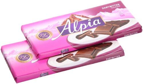 Alpia Zartbitter Schokolade 100g