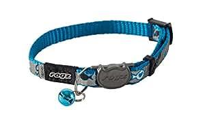 Rogz Catz ReflectoCat Collier pour chat Bleu Taille XS