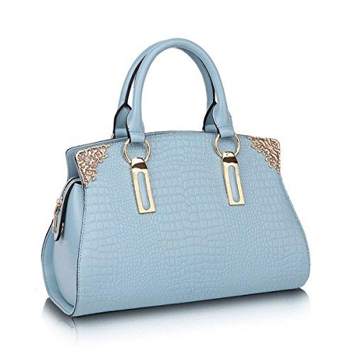 Damen Handtaschen Handtaschen Umhängetasche Krokodil Muster Leder Handtaschen Europa Und Die Vereinigten Staaten Fashion Elegant Einfache Diagonale Paket E