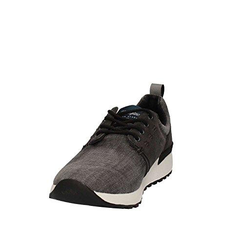 Wrangler uomo sneakers nero o blu WM171081 scarpe estate 2017 Nero